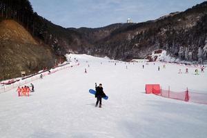 """【一写就""""惠""""】冬天,去大明山滑雪吧!"""