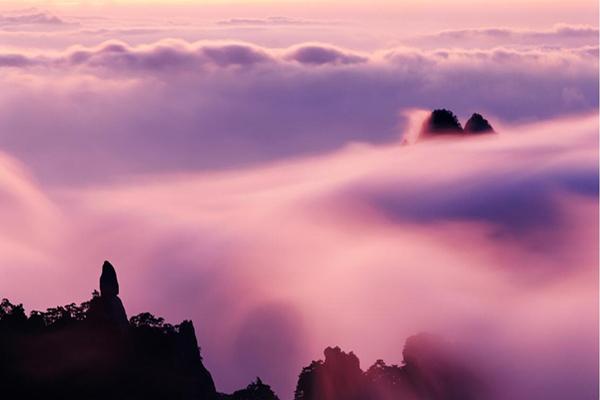 黄山风景区白云景区