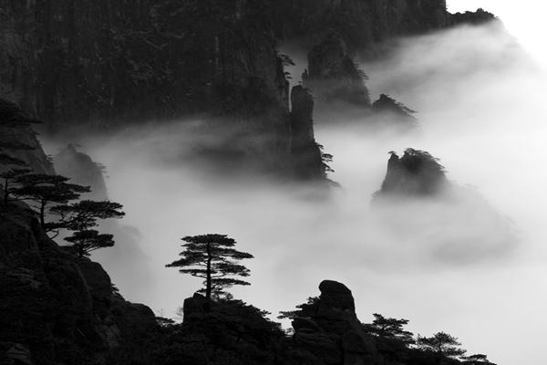 黄山风景区西海大峡谷