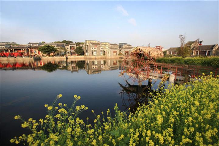 广州岭南印象园建筑特色