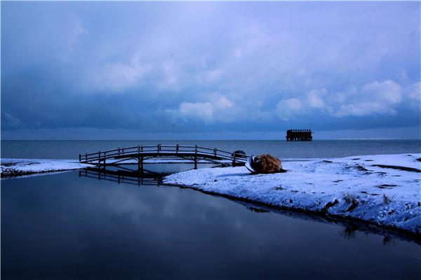 青海湖【二郎剑】观赏区