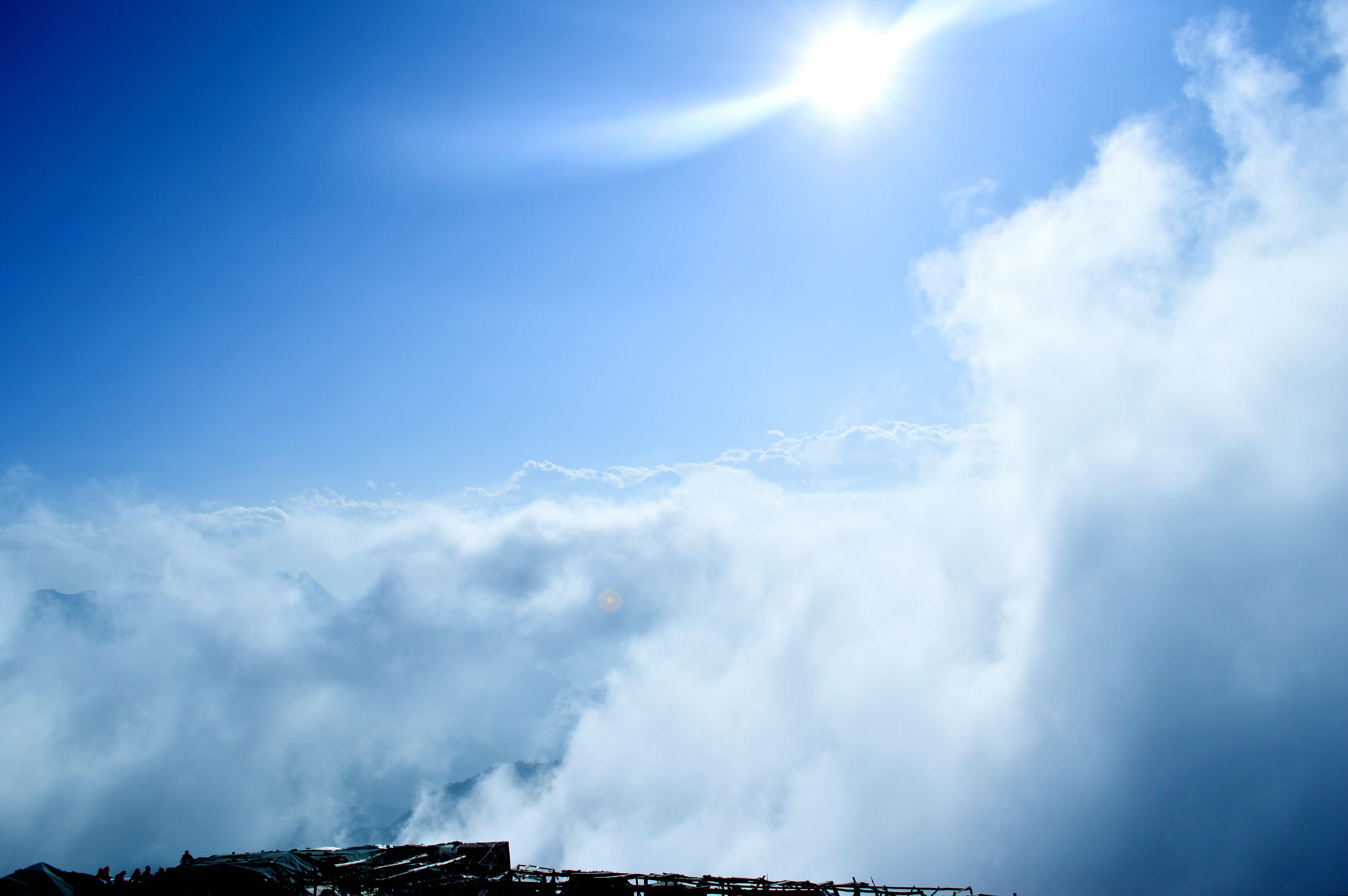 【全民摄影季】繁星之下,云端之上---纪16年清明川西牛背山之行,大量