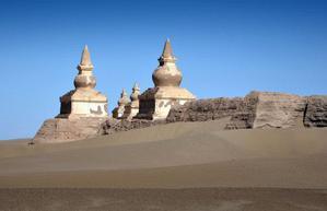 内蒙古黑城遗址游记