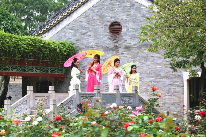 广州宝墨园·南粤苑宝墨园玫瑰节