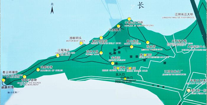 鹅鼻嘴公园导览图