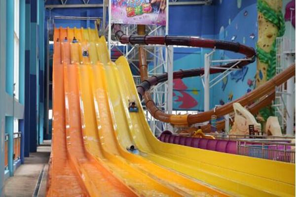 杭州湾海皮岛水世界彩虹竞技