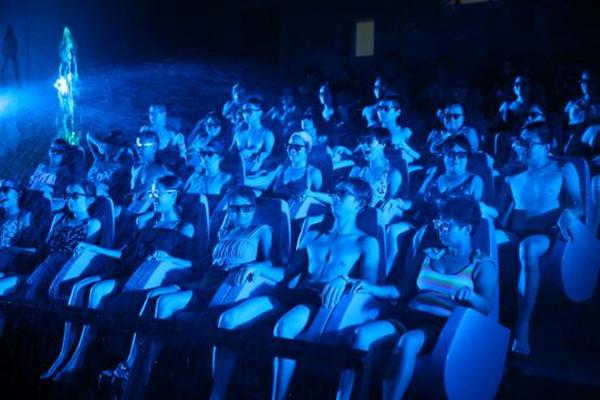 杭州灣海皮島水世界水上5D影院