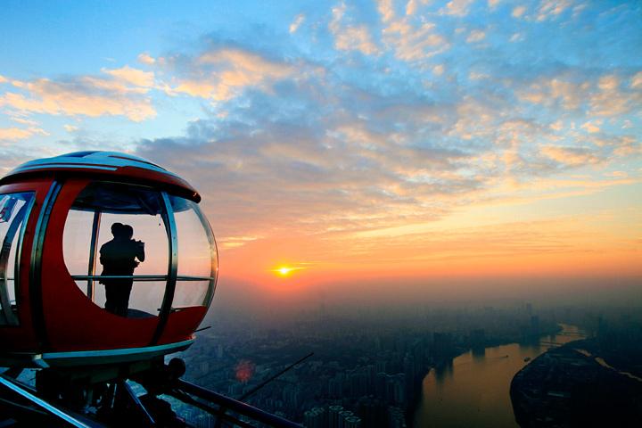 广州塔世界至高摩天轮