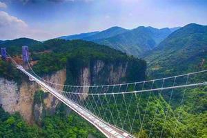 【我是达人】抢先体验张家界大峡谷玻璃桥,忆醉美湘西行(附实用攻略)