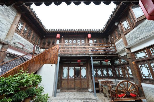 枣庄台儿庄古城观邸豪景酒店