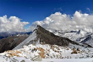 """【我是达人】彩林、冰川、红石滩、藏酋猴——来""""达古冰山""""一网打尽"""