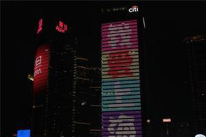 上海欢迎你!!!来黄浦江游轮看上海外滩夜景