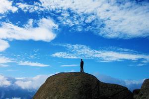 【我是达人】『夜爬华山』云巅之上,愿化作青云翱翔于天地