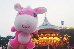 【我要去DisneyHalloweenTime】#带着小驴去香港迪士尼乐园#2天1夜HK玩乐之旅