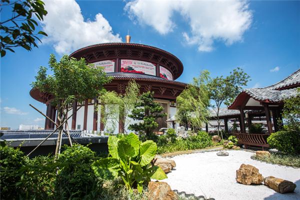 中国(大涌)红木文化博览城古典特色园林
