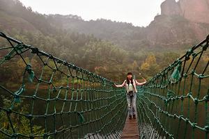问漓江:您是否在江西上饶铜钹山下丢个妹妹叫九仙湖?