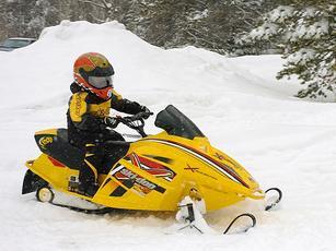 第二届石景山游乐园冰雪节雪地摩托车