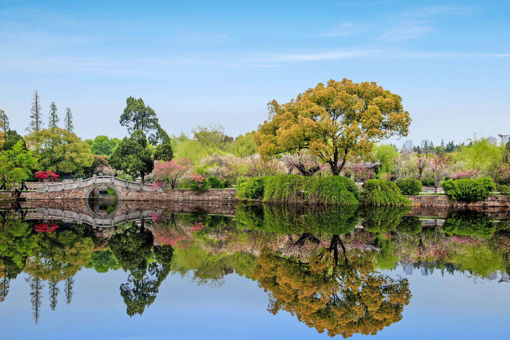 無錫蠡園公園圖片
