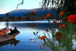 【我是达人】【泸沽湖】可以让时光静止的黄昏