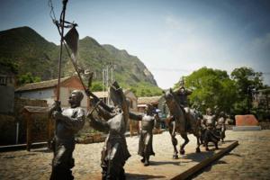 【我要无人机大奖】爸爸去哪儿之灵水村,举人古村落。