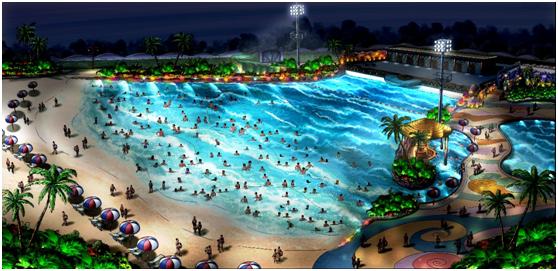 常州侏罗纪水世界飓风湾一巨型造浪池