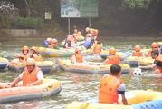 清远古龙峡漂流国际漂流赛场