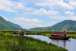 【我是达人】滇彩腾冲•中国唯一亚热带高原火山口上的神奇湿地