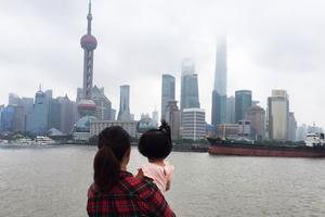 上海亲子二日游,外滩,野生动物园