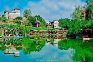 【我是达人】寻梦黄姚小桥流水人家,迷醉于喀斯特峰林中千年古镇的诗情画意