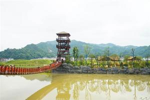 【我是达人】【炭河】湘城的那一边,古韵满满的千古情。