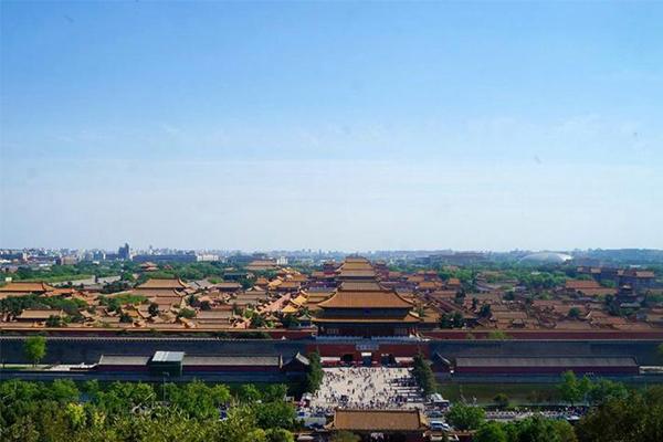 北京景山公园游记