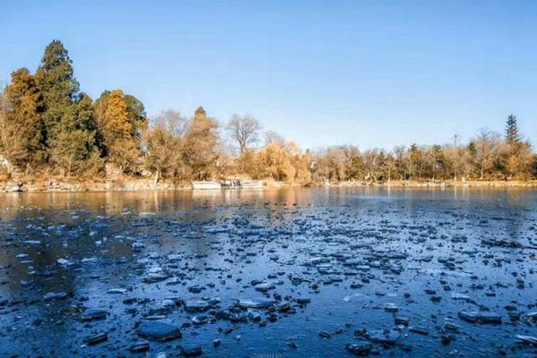 【暖冬双旦礼】雁栖湖之美,冰湖