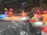 湖州安吉龙王山漂流