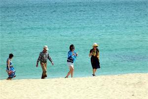 【我是达人】徒步鹿回头公园,闲游亚龙湾、大东海海滩