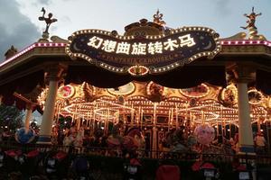 我的上海迪士尼乐园纪录