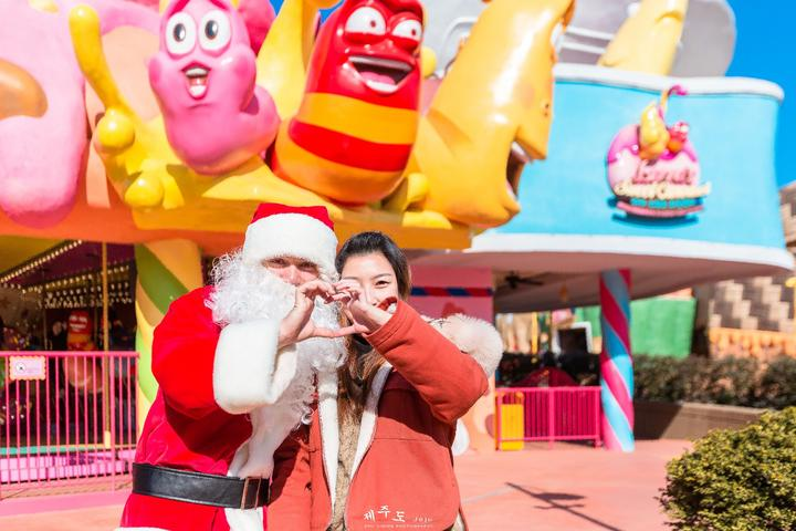 【我是达人】【撒浪嘿哟,济州岛】除了欧巴与圣诞,还有一颗膨胀的少女心