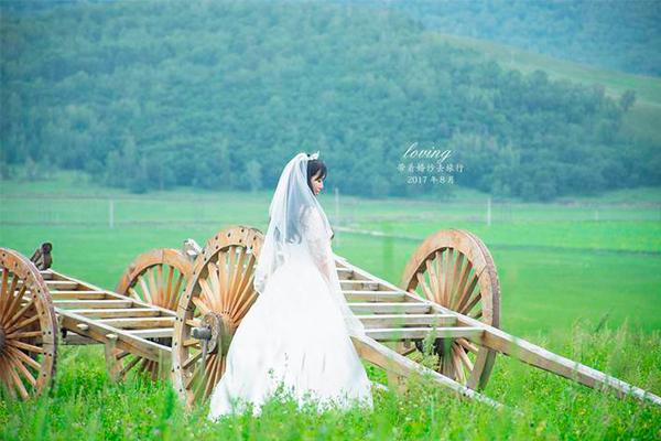 带着婚纱去旅行--追寻呼伦贝尔之夏