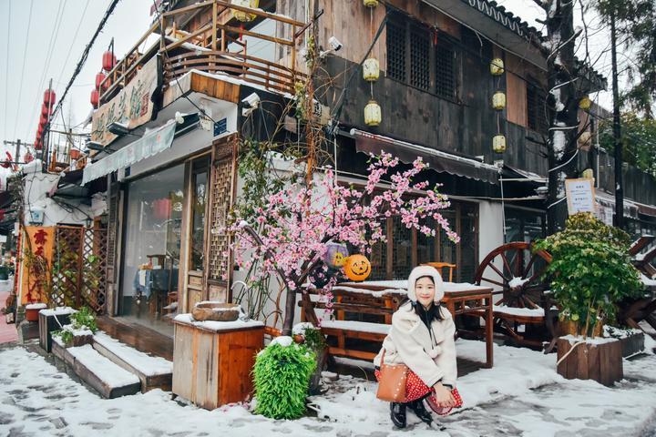 #我是达人#【第1001个小梦想】之二日雪中姑苏城的日记薄