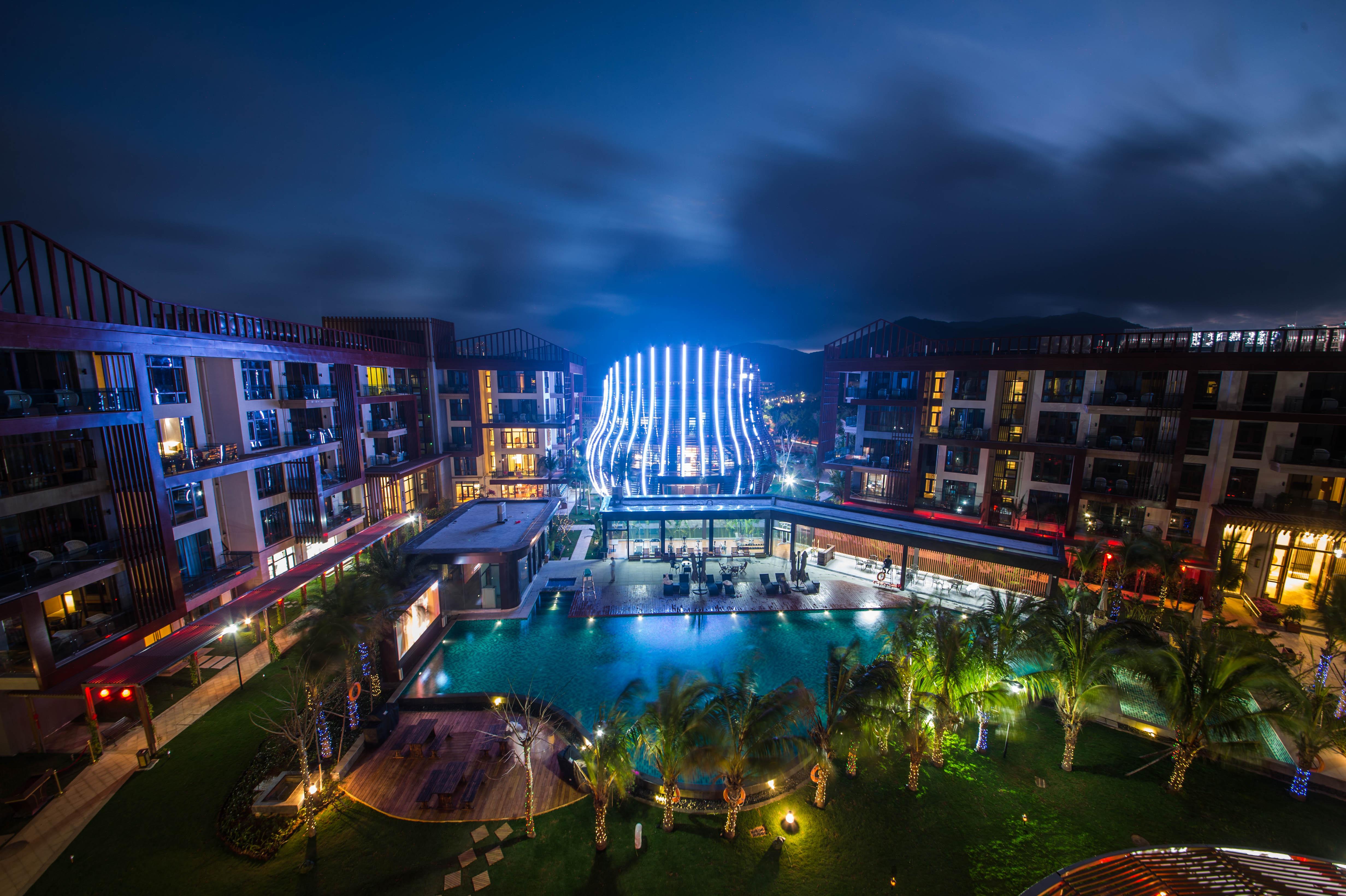 三亚亚龙湾雅阁温泉度假酒店