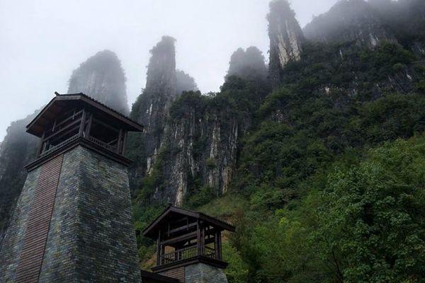 【kneipp春油季】游玩恩施大峡谷,雾中仙境,如画中景