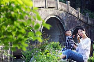 【我是达人】不负暖阳好时光,带着小宝去杭州,春日游园会