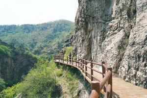 【卡赫旅途无止净】比肩五岳,这座奇山上还有个玻璃栈桥