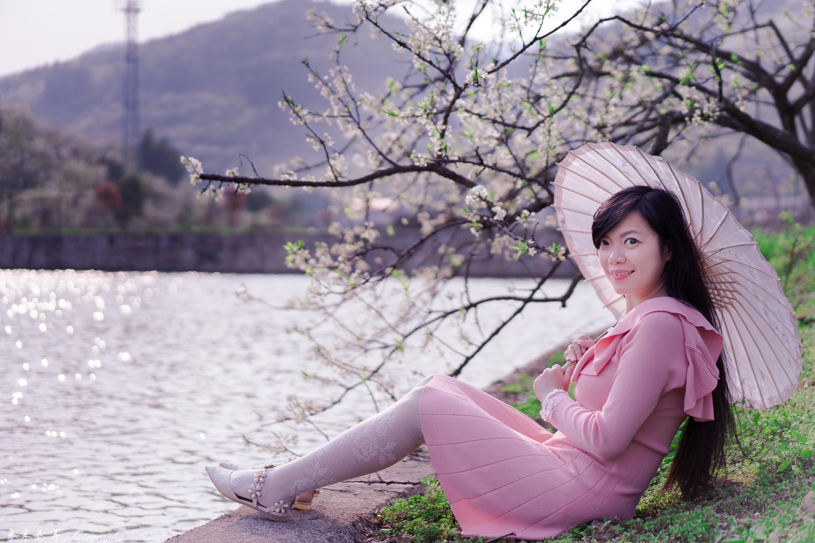 【我是达人】山城重庆春之秘境印盒李花-重邮樱花-沙井红枫