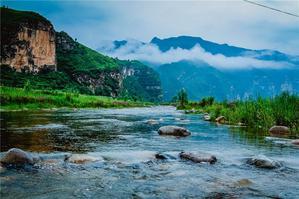 """游野三坡百里峡:飞瀑峡谷的北方奇观,不负""""天下第一峡""""的美誉"""