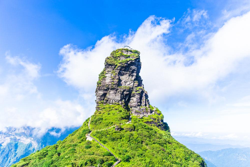 【我是达人】一座山I名曰梵天净土,我爱上这里的云雾