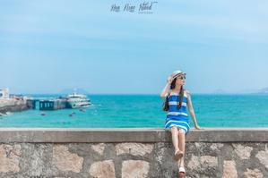 【我是达人】【舟山.花鸟岛】蓝白梦境,中国de圣托里尼