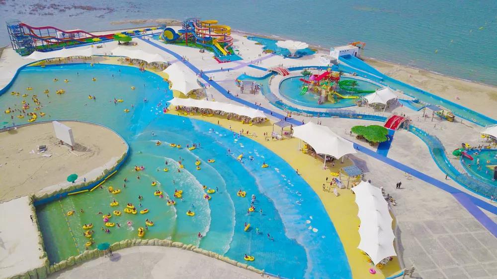 带你去看新疆海,顺便玩儿下泡泡潮趴电音节!!