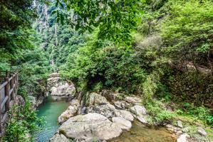 【我是达人】在天台山不止是国清寺的禅意绵绵,还有那琼台仙谷的仙境幽幽