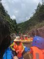 安吉仙龙峡漂流