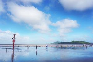 【我是达人】中国渔村,浙江边上的天空之镜